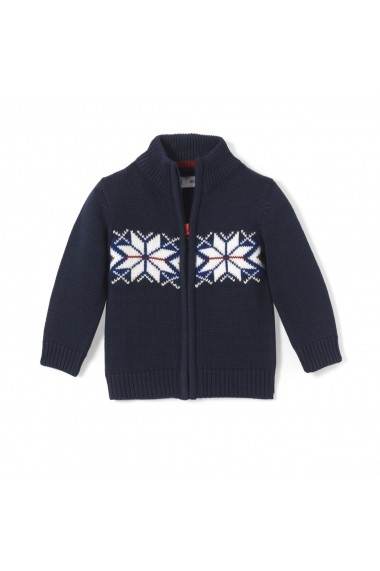 Cardigan La Redoute Collections LRD-GDM769 bleumarin