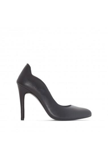 Pantofi cu toc La Redoute Collections GDN129 negru - els
