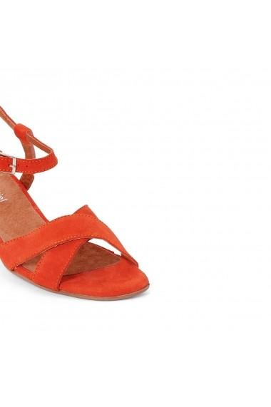 Sandale La Redoute Collections GDN604 portocaliu - els