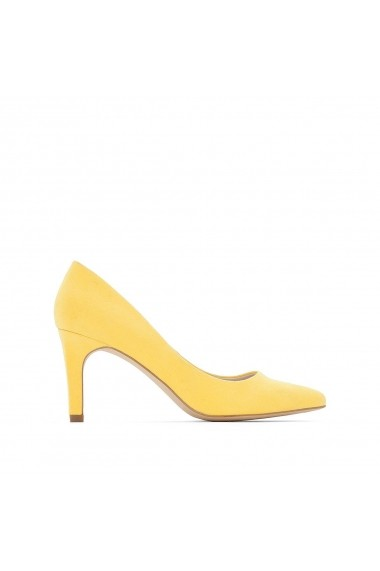 Pantofi cu toc La Redoute Collections GDO666 galben