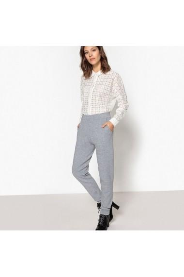 Pantaloni largi La Redoute Collections GDO891 gri