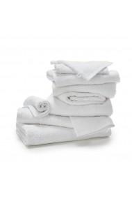 Set 10 articole textile baie SCENARIO GDQ710 alb