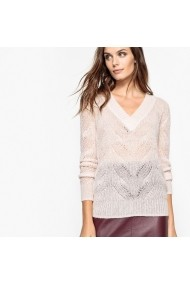 Pulover La Redoute Collections GDQ898 crem - els