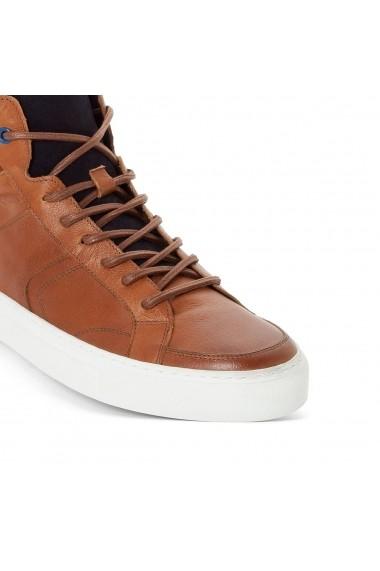 Pantofi sport La Redoute Collections GDR666 maro