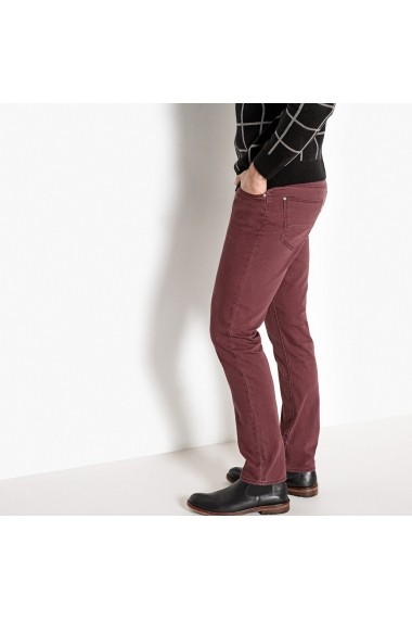 Jeans La Redoute Collections GDT909 bordo - els