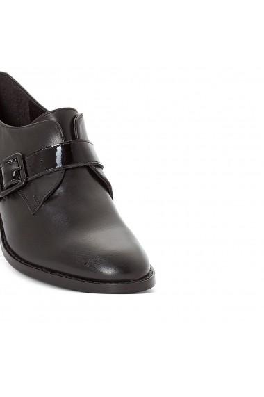 Pantofi Derby La Redoute Collections GDT964 negru - els