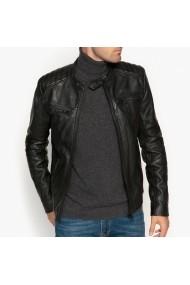 Jacheta din piele La Redoute Collections GDU473 negru