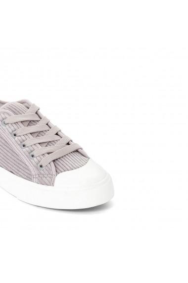Pantofi sport La Redoute Collections GDV160 gri-lila