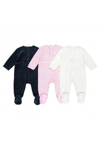 Set 3 pijamale La Redoute Collections GDV747 multicolor - els