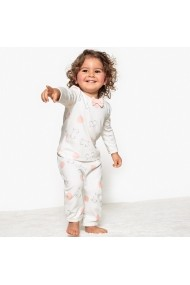 Set 2 perechi pijamale La Redoute Collections GDV826 roz