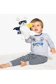 Set 2 perechi pijamale La Redoute Collections GDW139 gri