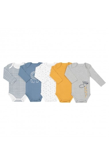 Set 5 bodyuri La Redoute Collections GDW605 multicolor - els