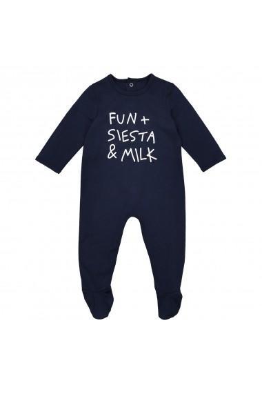 Pijama La Redoute Collections GDW611_Bleu-marine Bleumarin