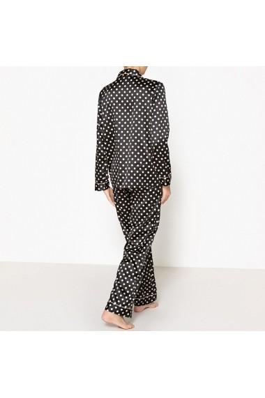 Pijama La Redoute Collections GDW623 negru