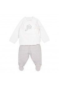Set bluza si pantaloni La Redoute Collections GDW715 alb