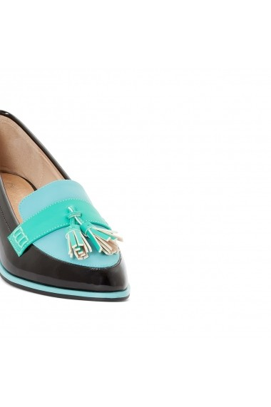 Mocasini La Redoute Collections GDW817 bleumarin