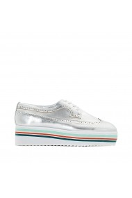 Pantofi sport La Redoute Collections GDW908 argintiu