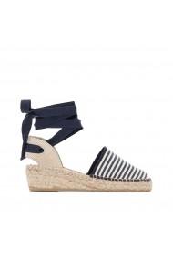 Sandale cu toc ANNE WEYBURN GDX476 bleumarin