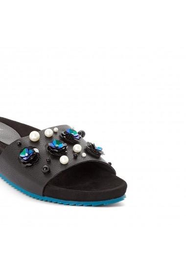 Papuci MADEMOISELLE R GDX658 negru