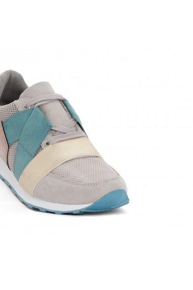 Pantofi sport La Redoute Collections GDY111 gri