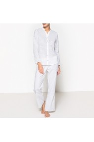 Pijama La Redoute Collections GDY167 alb