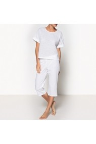 Pijama La Redoute Collections GDY175 alb - els