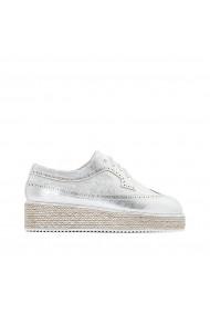 Pantofi La Redoute Collections GDY285 argintiu