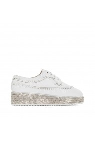 Pantofi La Redoute Collections GDY285 alb