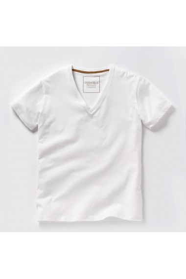 Tricou La Redoute Collections GDY317 alb - els