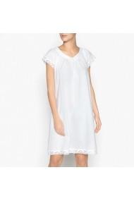 Camasa de noapte La Redoute Collections GDY446 alb