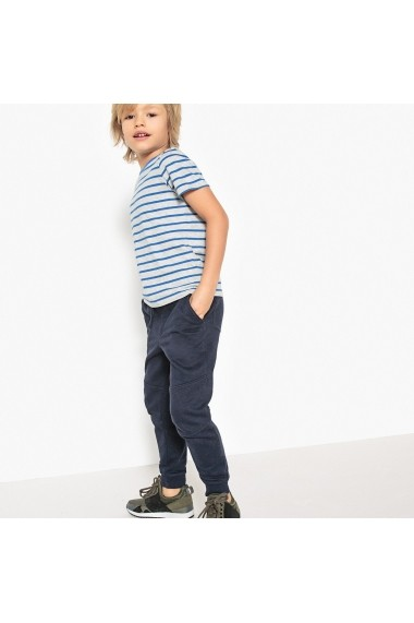 Pantaloni sport La Redoute Collections GDY925 bleumarin - els