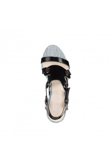 Sandale cu toc MADEMOISELLE R GDZ014 negru