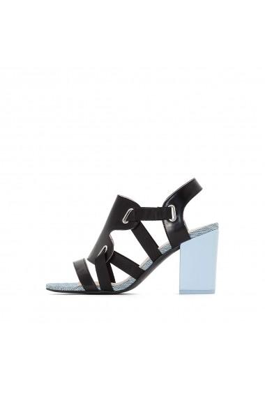 Sandale cu toc MADEMOISELLE R GDZ014_Noir Negru
