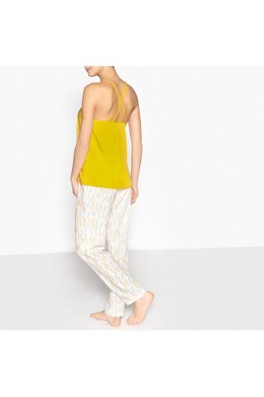 Pijama La Redoute Collections GDZ344 ocru