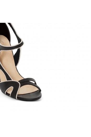 Sandale La Redoute Collections GDZ401 negru