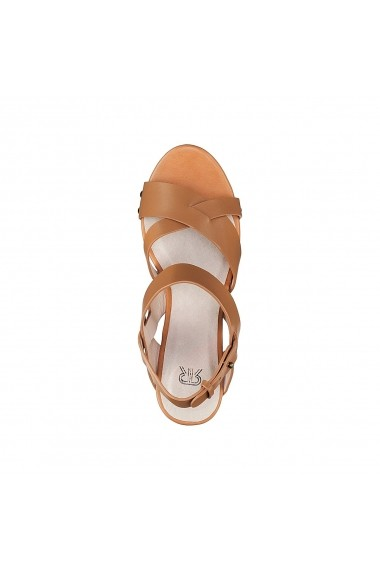 Sandale La Redoute Collections GDZ405 maro