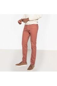 Jeans La Redoute Collections GEA475 bordo - els