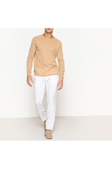 Pantaloni La Redoute Collections GEB548 alb - els