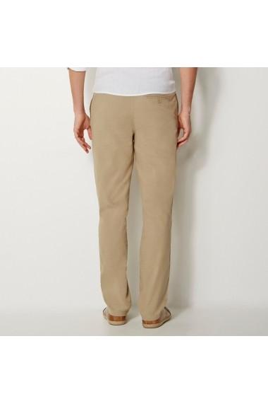 Pantaloni La Redoute Collections GEB550 bej - els