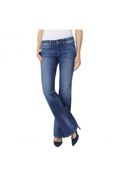 Jeans Pepe Jeans GEB665 albastru
