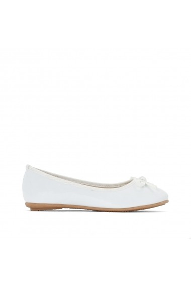 Pantofi La Redoute Collections GEB899 alb - els
