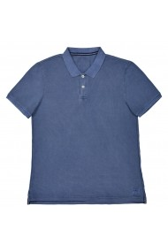 Tricou polo La Redoute Collections GEE343 bleumarin