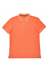 Tricou polo La Redoute Collections GEE343 portocaliu