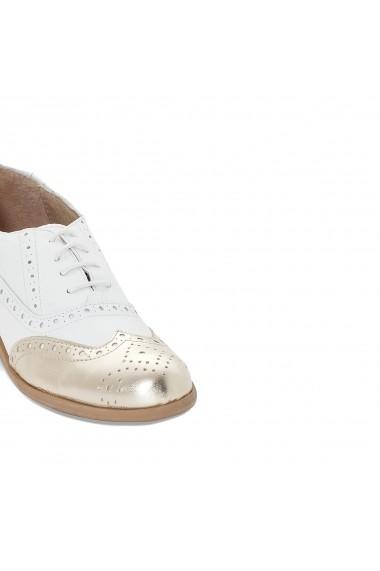 Pantofi La Redoute Collections GEE565 Blanc Alb - els