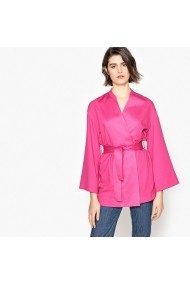 Cardigan La Redoute Collections GEE626 fuchsia - els