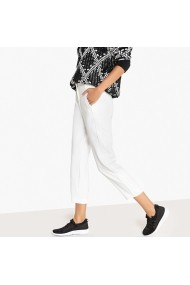 Pantaloni trei sferturi La Redoute Collections GEF108 ecru