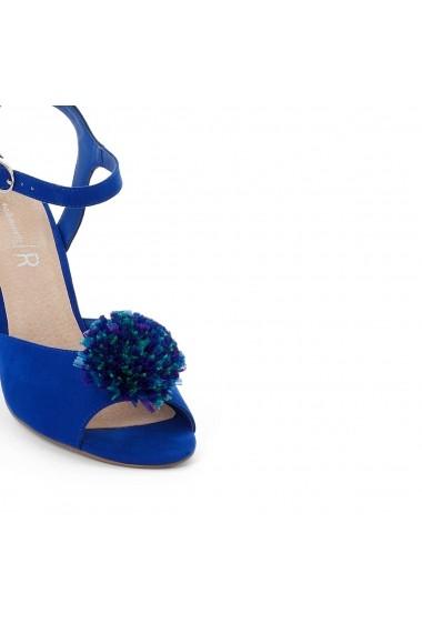 Sandale cu toc MADEMOISELLE R GEG192 albastru