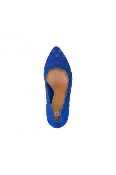 Pantofi cu toc La Redoute Collections GEG212 albastru
