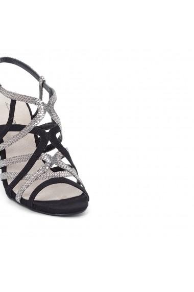 Sandale ANNE WEYBURN GEG617 negru - els