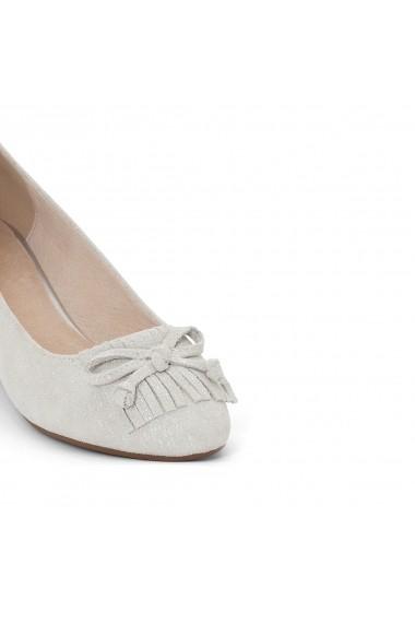 Pantofi cu toc ANNE WEYBURN GEG618 argintiu